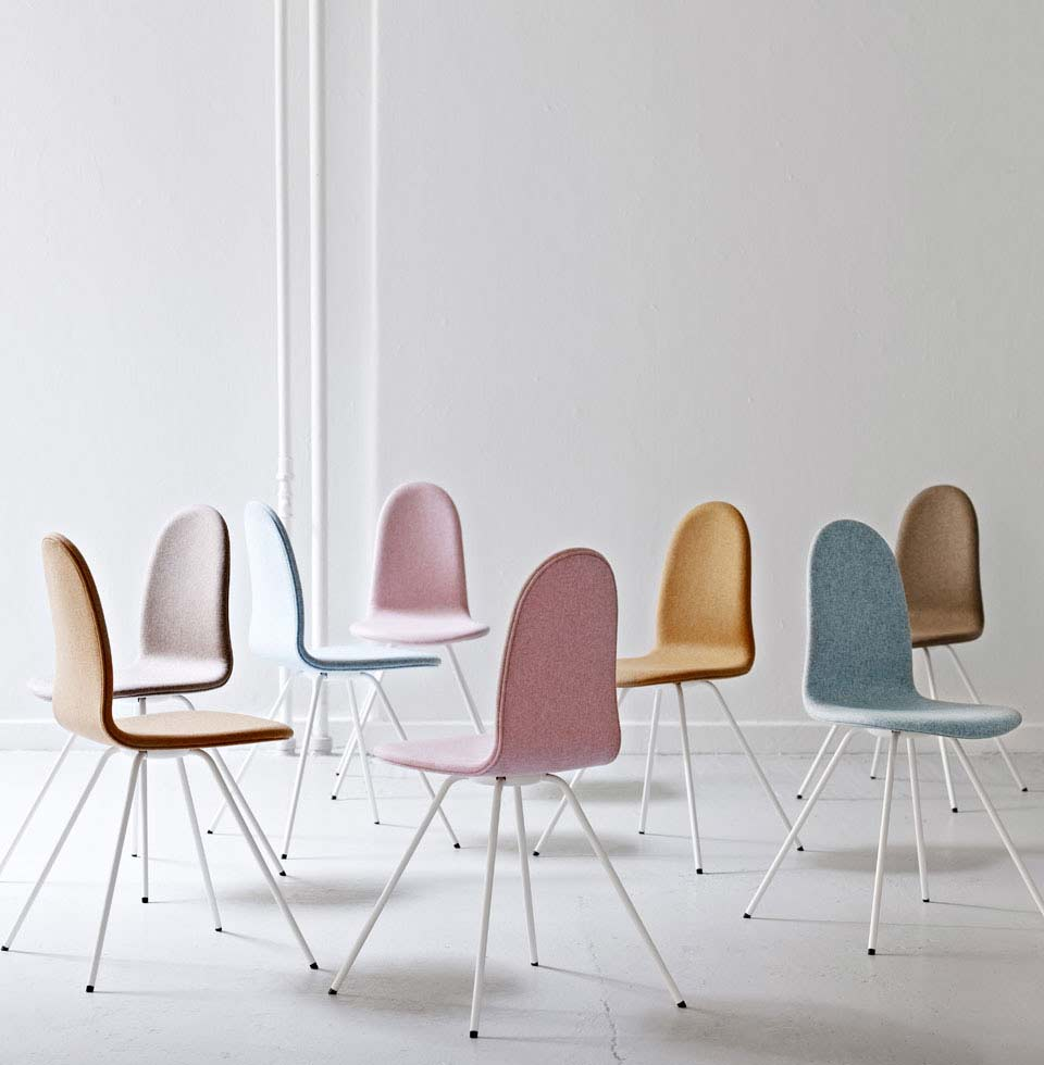 Tongue chairs relaunched by HOWE
