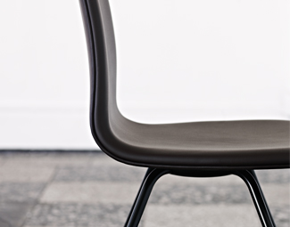 A Danish design chair, the Tongue chair