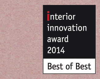 The Tongue chair won Interior Innovation Award 2014